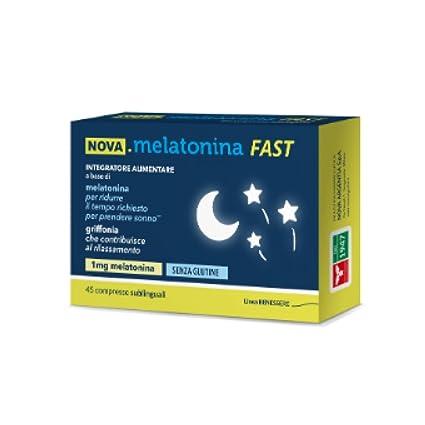 Nova Melatonina Fast 45cpr