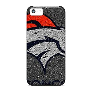 Excellent Cell-phone Hard Cover For Iphone 5c With Custom Attractive Denver Broncos Skin MansourMurray