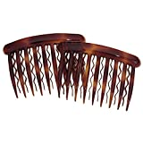 DCNL Hair Accessories Tortoise Side Comb for Fine Hair