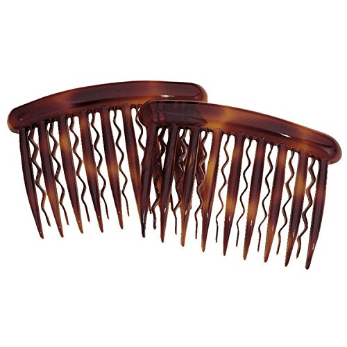 (DCNL Hair Accessories Tortoise Side Comb for Fine Hair)
