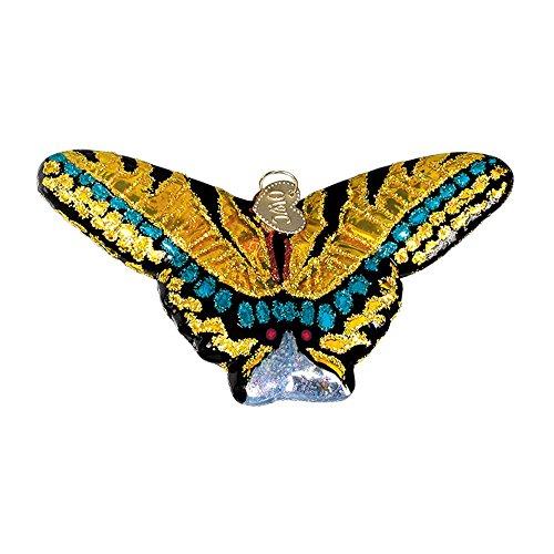 Feeder Gold Hummingbird (Old World Christmas Spring Garden Glass Blown Ornament (Swallowtail Butterfly))