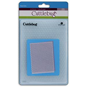 Cuttlebug 5-Inch-by-7-Inch Embossing Folder, Polka Dots