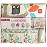 Skip Hop 4 Piece Bumper-free Nursery Set, Treetop Friends