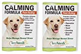 Europharma/Terry Naturally Animal Health Calming Formula Fast-Acting Helps Manage Stress 45 Tablets (2)