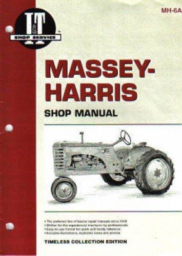 Download MH-6A Massey-Harris 16 Pacer Farm Tractor Repair Manual PDF
