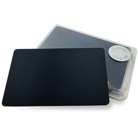Amazon ebamaz metal business cards tablet thick 86x54mm pack ebamaz metal business cards tablet thick 86x54mm pack of 10pcs stainless steel 05mm thickness colourmoves