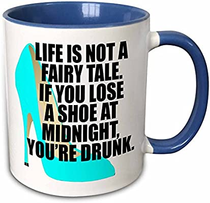 Amazoncom 3drose Evadane Funny Quotes Life Is Not A Fairy Tale