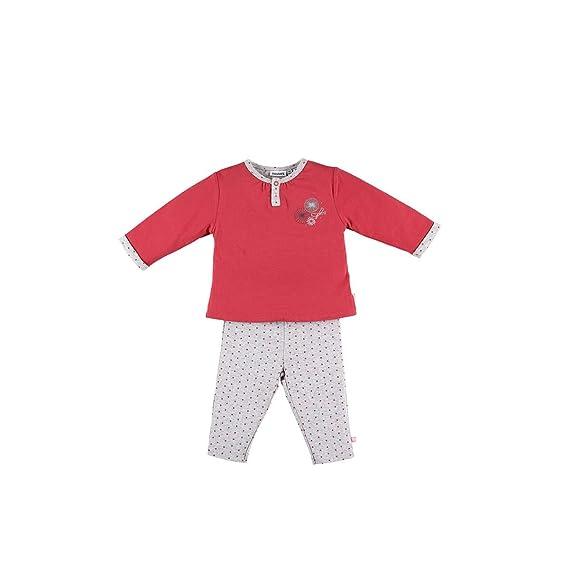 e7716899f81a8 Noukies Z888143 Pyjama 2 pièces en Jersey Double Face Enfant Fille ...