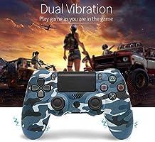 Controlador De Juegos, Para Controlador PS4 Bluetooth Vibration ...