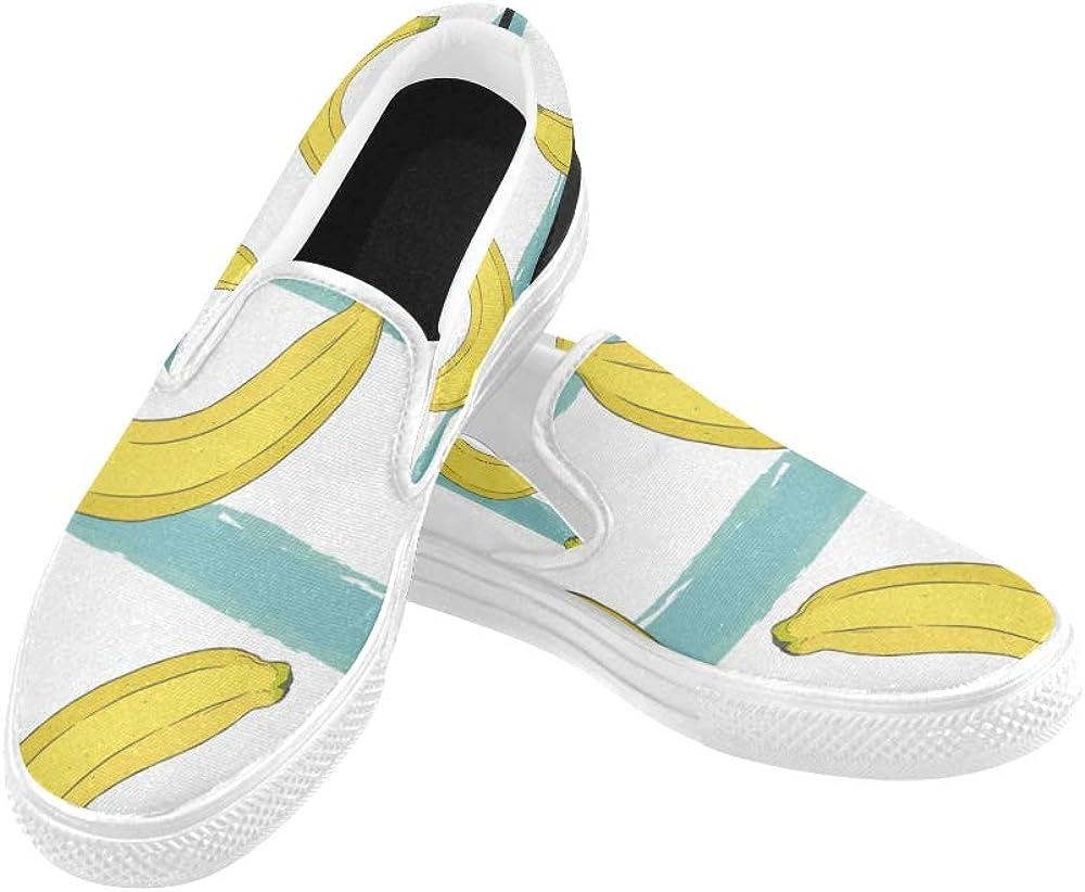 Boys Sneakers Size 11 Banana Hand Draw