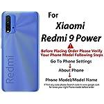 Clapcart™ Designer Printed Back Cover for Mi Redmi 9 Power [Polycarbonate Hard Plastic Case][Black- Music Panda Design…