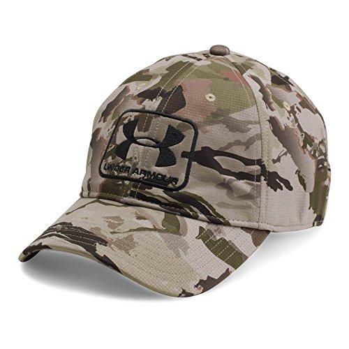 - Under Armour Men's Camo Stretch Fit Cap, Ridge Reaper Camo Ba (903)/Black, X-Large/XX-Large