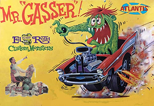 Ed Big Daddy Roth Mr Gasser Model Kit Atlantis Toy and Hobby from Atlantis Toy and Hobby