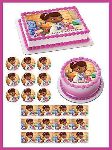 Doc McStuffins (Nr2) - Edible Cupcake Toppers - 2