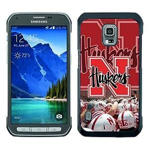 Ncaa Big Ten Conference Football Nebraska Cornhuskers 21 Black Newest Customized Samsung Galaxy S5 Active Phone Case
