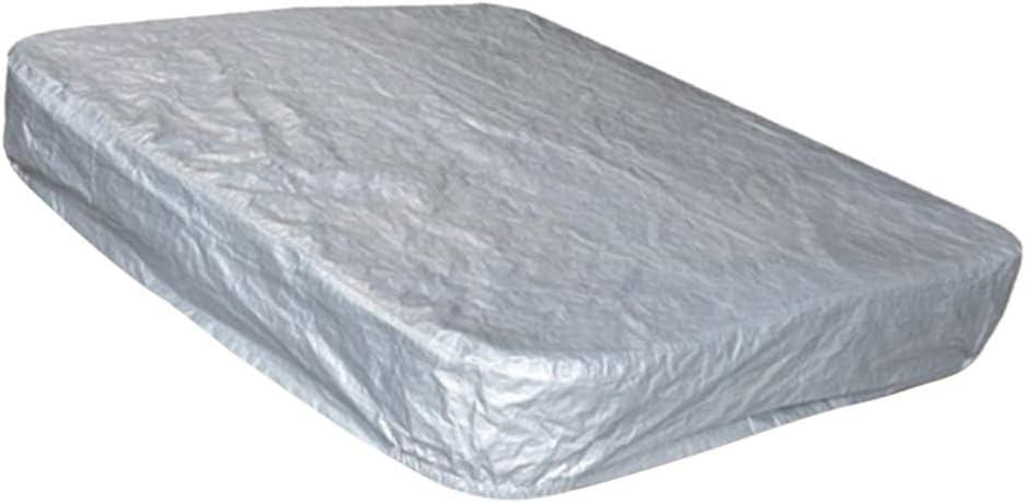 PETSOLA Cubierta de Impermeable para Protector de Ba/ñera de Ba/ñera Cuadrada 220x220x30cm