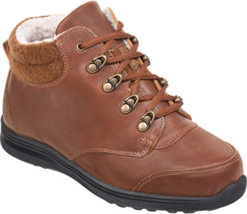 Cosyfeet Moose Boots - Extra Roomy (Eeeee+ Width Fitting) Tan Grained Leather lqKnqT