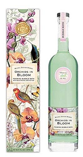 Romantic Bubble (Michel Design Works Luxury Bubble Bath, Orchids in Bloom)