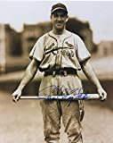 Autographed Slaughter Photograph - W Bat 8x10 W coa - Autographed MLB Photos