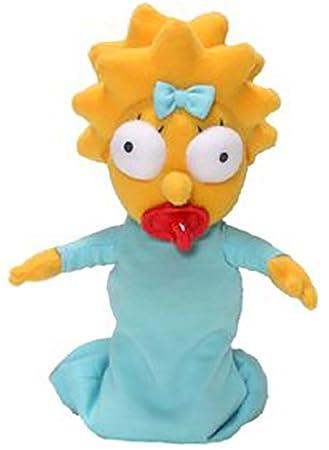 8u0026quot; Maggie the Simpsons Plush  sc 1 st  Amazon.com & Amazon.com: 8