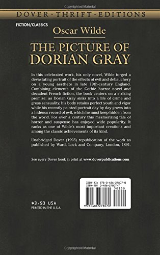an analysis of the values during the nineteenth century in dorian gray by oscar wilde The power of greed and selfishness take over dorian gray and create an ugly evil side to himthe mid eighteenth century  dorian gray(oscar wilde)  analysis on.