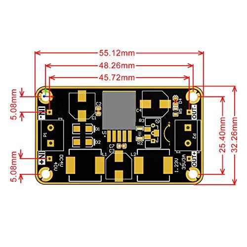 12v to 5v Buck Converter, DROK LM2596 DC Voltage Regulator 3