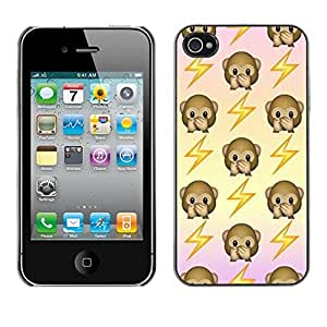 Design Hard ShellElectricity Jolt Pattern For Ipod Touch 5 Case Cover