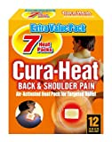 Cura Heat Back & Shoulder Pain - 2 x 7-Pack by Cura-heat