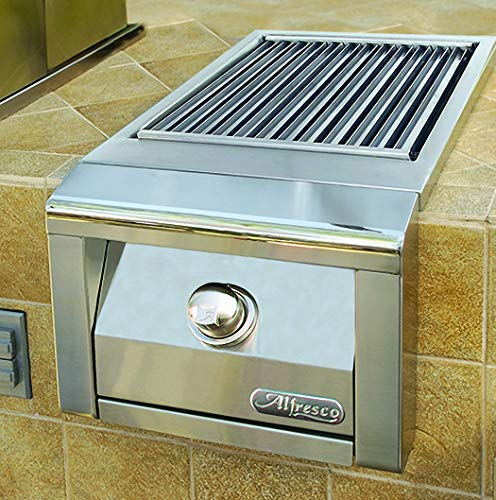 Alfresco SearZone Side Burner for Built-in Grill (AXESZ-LP), Propane, 14-Inch