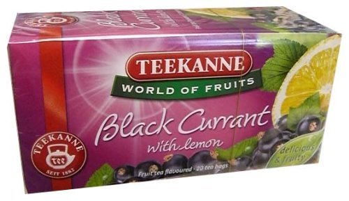 Teekanne Tea Black Currant 20 Bags