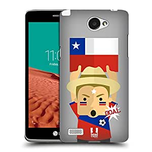 Head Case Designs Chile Football Enthusiast Hard Back Case for LG Ray / Zone