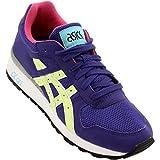 Cheap ASICS Women's Gt-ii Retro Running Shoe, Dark Blue/Magenta, 9.5 M US