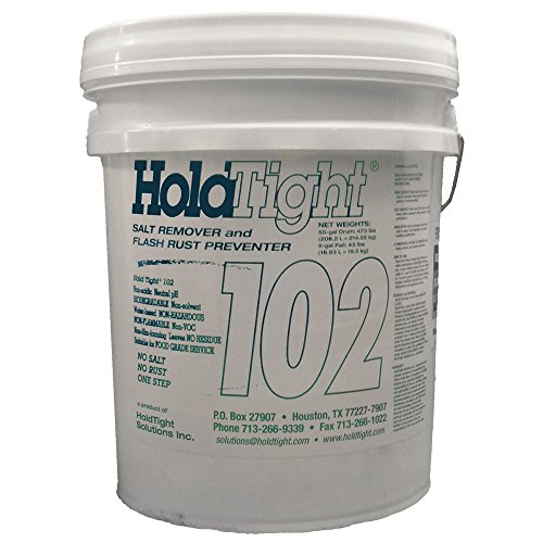 HoldTight 102 Salt Remover / Flash Rust Inhibitor (Five Gallon) by HoldTight Solutions