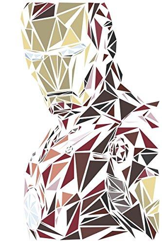"Naxart Studio ""Ironman - II"" Giclee on canvas, 24"" X 1.5"" X 36"" from Naxart Studio"