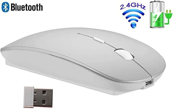 Mini Cordless Adjustable DPI Gaming Mice 2.4GHz Wireless Mouse For PC Laptop