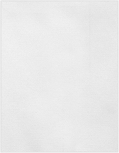 8 1/2 x 11 Cardstock - White Linen (250 Qty.) Photo #1