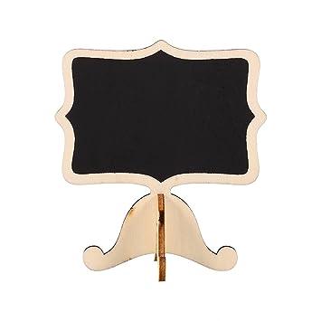 20 mini pizarras de madera de alta calidad, soporte de ...