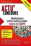 Relations Internationales Cours et QCM 2016-2017