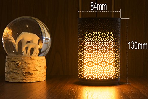 Pretty Portable Dancing Flameless Light Table Lamp Led