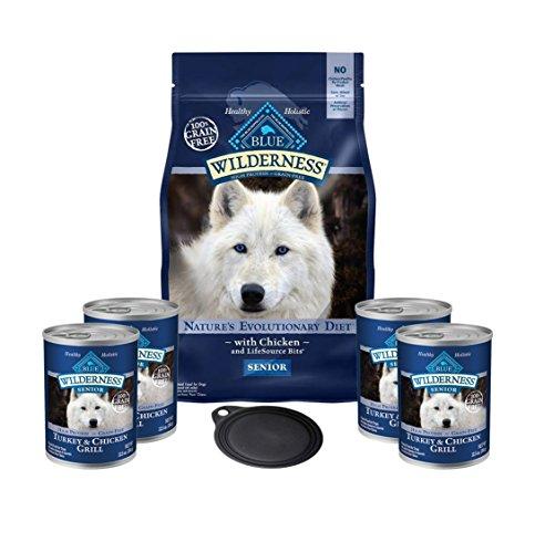 Blue Buffalo Wilderness Dog Food-High Protein Grain Free Sen