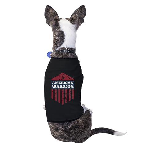 Camiseta para perros pequeños, diseño de Guerrero Americano ...