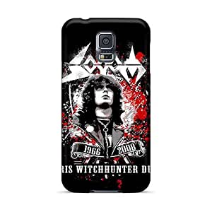 Samsung Galaxy S5 Lcn12660uAdO Support Personal Customs Realistic Gorillaz Band Series Scratch Protection Hard Phone Cover -RitaSokul