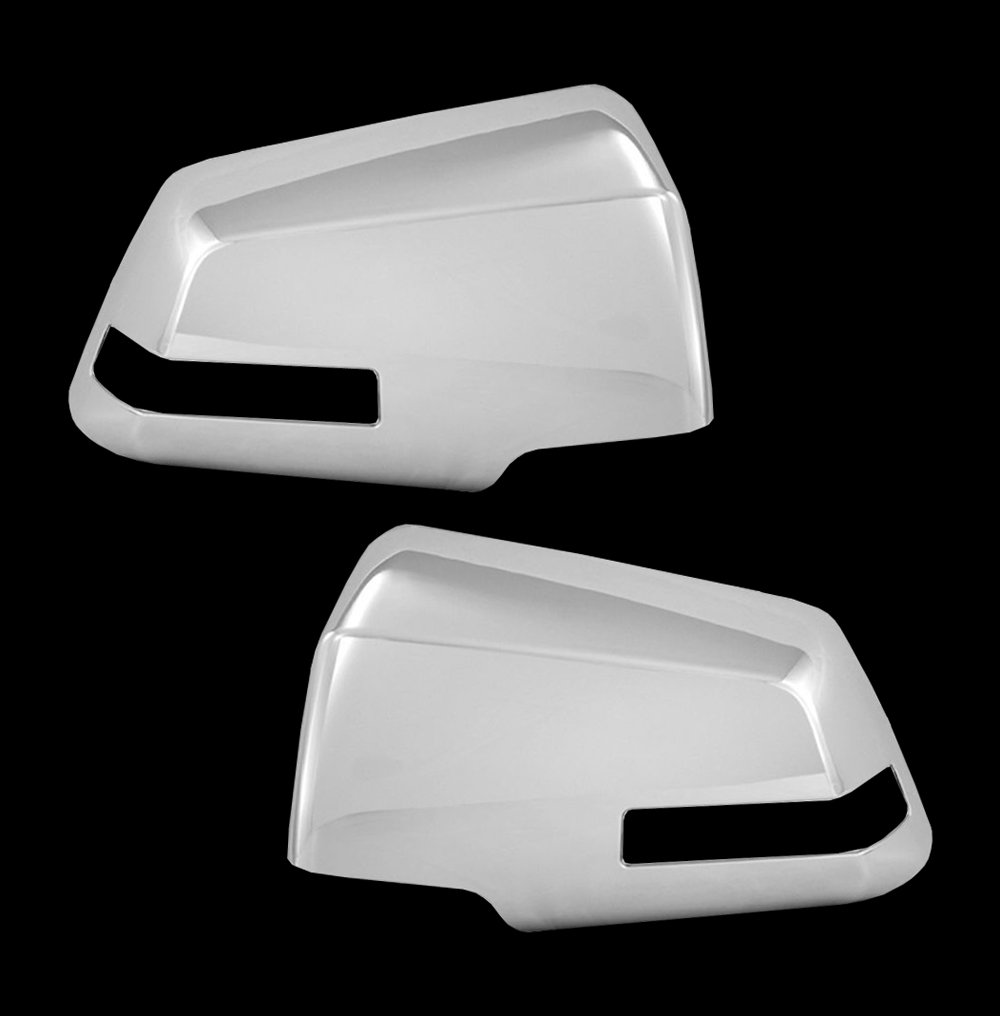 Fit 2013 2014 2015 2016 2017 Nissan ALTIMA Chrome Mirror Cover WITHOUT Signal