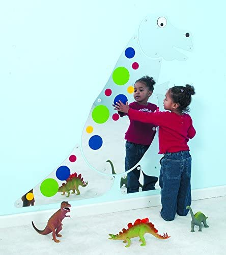 Children's Factory Friendly T-Rex Mirror Classroom Furniture CF332-508