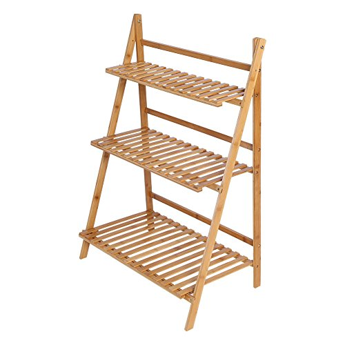 Flower Pot Plant Stand 3 Tier Flower Planter Rack Shelf Shelves Organizer Garden by Unknown