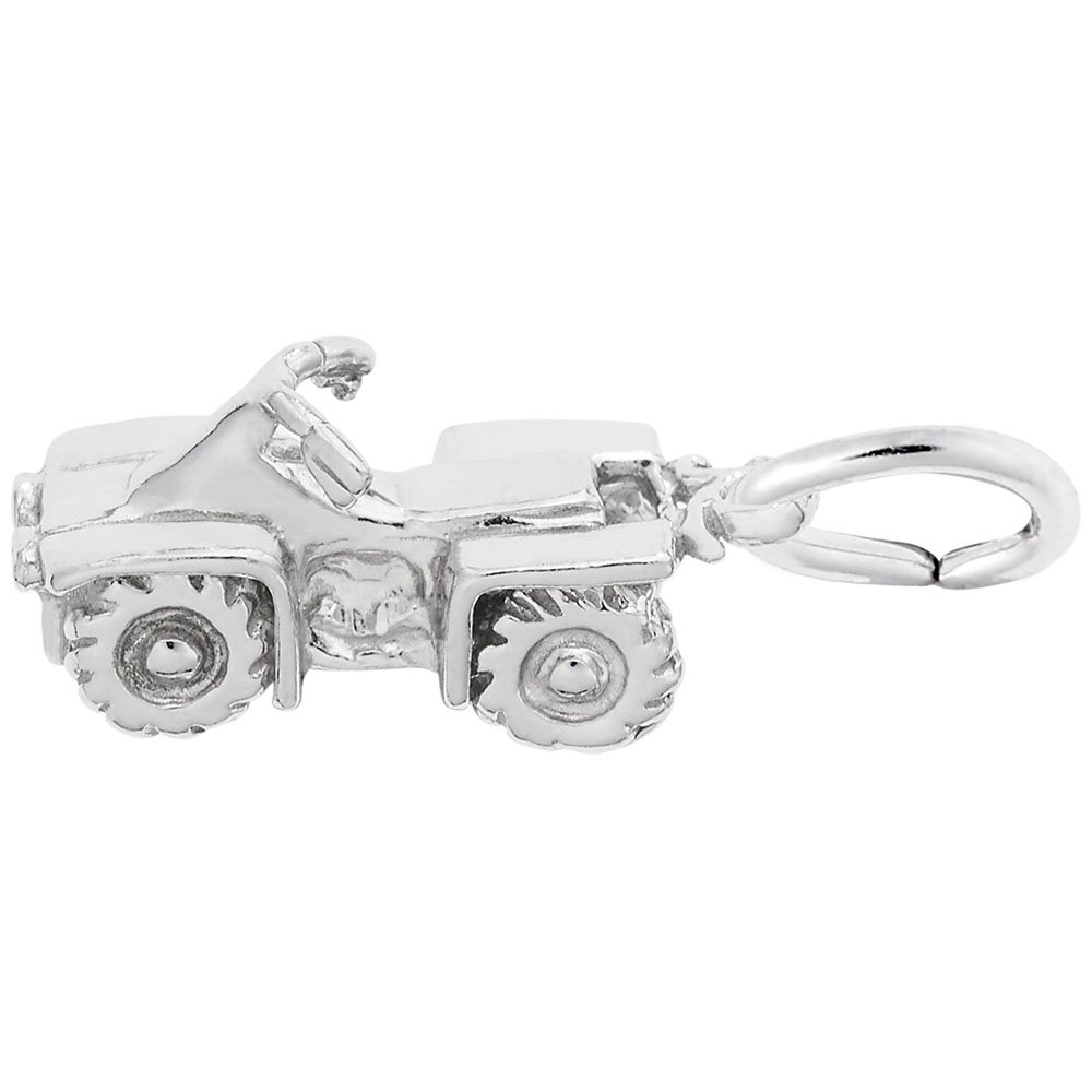 Charms for Bracelets and Necklaces All Terrain Vehicle Charm