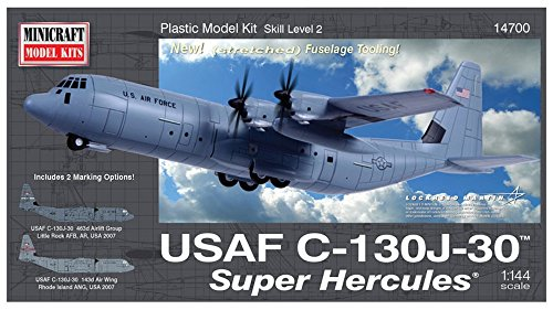 Minicraft Model Kits C-130J-30 Super Hercules Model Kit