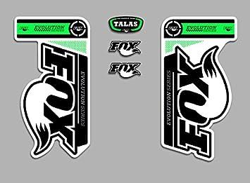 PEGATINAS HORQUILLA FOX TALAS EVOLUTION FDP04 STICKERS AUFKLEBER DECALS AUTOCOLLANTS ADESIVI