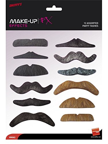 Party Mustaches Costume Accessory Set