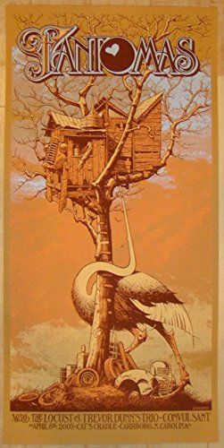 2005 Fantomas - Carrsboro Concert Poster by Aaron Horkey for sale  Delivered anywhere in USA